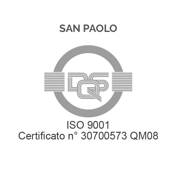 ISO 9001 – SAN PAOLO